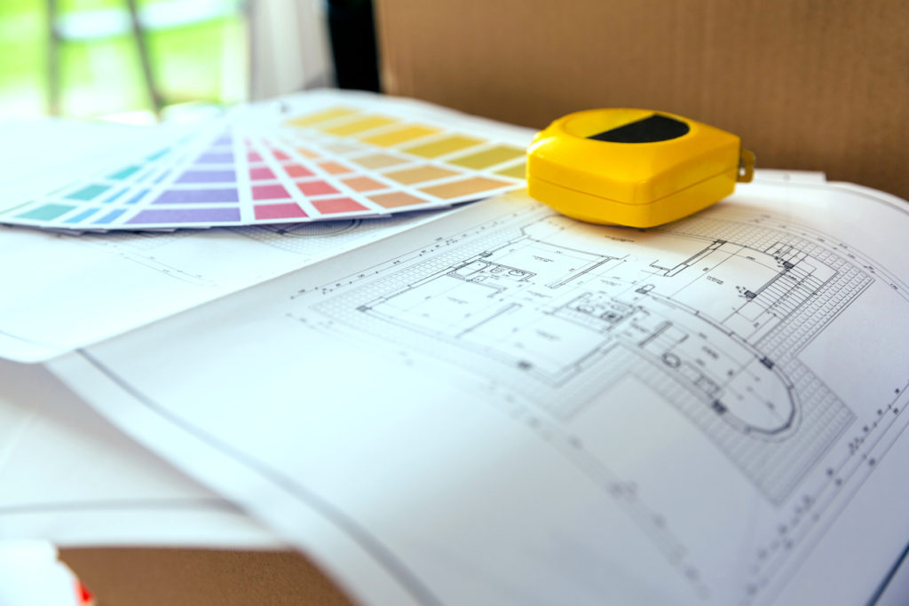 Interior Painting Checklist - Plan, color palette and metre